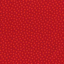 2873-003 Geekery - Atoms - Russus Red Fabric