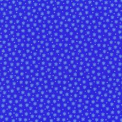 2873-004 Geekery - Atoms - Venitus Blue Fabric