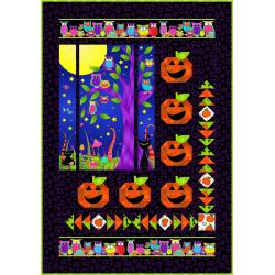 9653-432 Happy Owl-O-Ween - Boo Quilt Kit