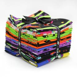 9653-433 Happy Owl-O-Ween Fat Quarters