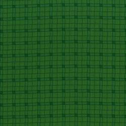 3032-002 Monster Trucks - Logger Plaid - Swamp Green Fabric