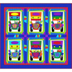 9653-370 Monster Trucks - Monster Truckers Quilt Kit