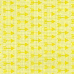 3335-002 Pow Wow Wow! - Arrows - Yellow Fabric