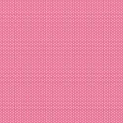 3623-003 Retro Road Trip - Pin Dots - Rose Fabric