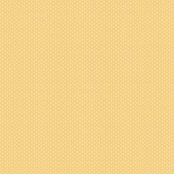 3623-004 Retro Road Trip - Pin Dots - Yellow Fabric