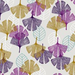 TS101-CL1 Happy Day - Leaf - Cloud Fabric