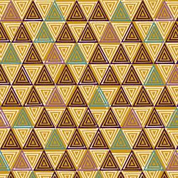 TS102-AM1 Happy Day - Triangle - Amber Fabric