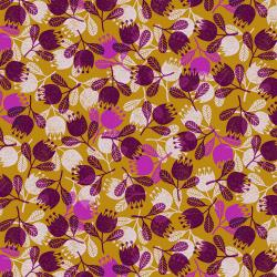 TS103-SG2 Happy Day - Flower - Sun Glow Fabric