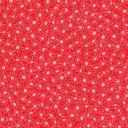 VF306-RE1 Playmaker - Daisies - Red Fabric