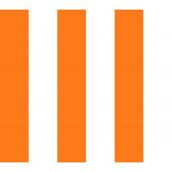 VF201-OR4 Stripes - Chic Stripe - Orange Fabric