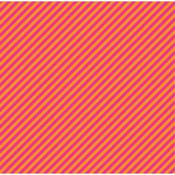 VF202-OR2 Stripes - Proper Stripe - Orange Fabric