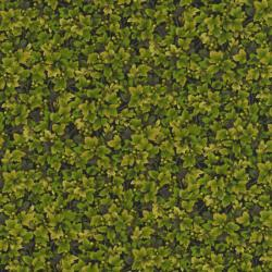 2305-004 Autumn Romance - Leaves & Berries - Green Fabric