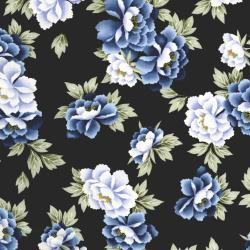 2700-001 Indigo Essence - Camelia - Blue Fabric