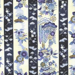 2704-001 Indigo Essence - Seasons - Blue Fabric