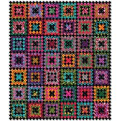 Crocheted Kisses Quilt Pattern