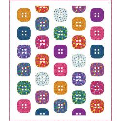 Cute As A Button Quilt Pattern