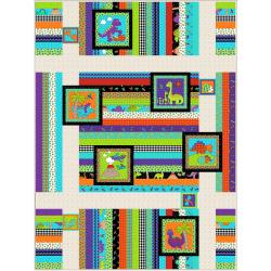 Dino Trails Quilt Pattern