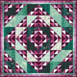 Shiny Mix Quilt Pattern