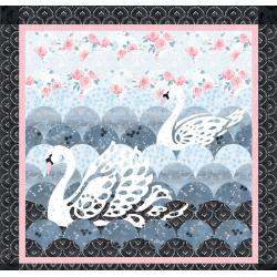 Swan Lace Quilt Pattern