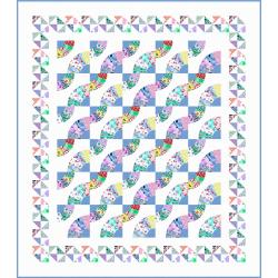 Whirling Fans Quilt Pattern 1