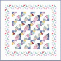Whirling Fans Quilt Pattern 2