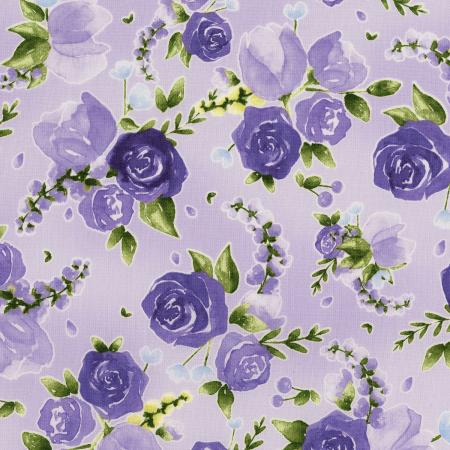 3293-001 June\'s Cottage - Prized Roses - Mayfair Fabric