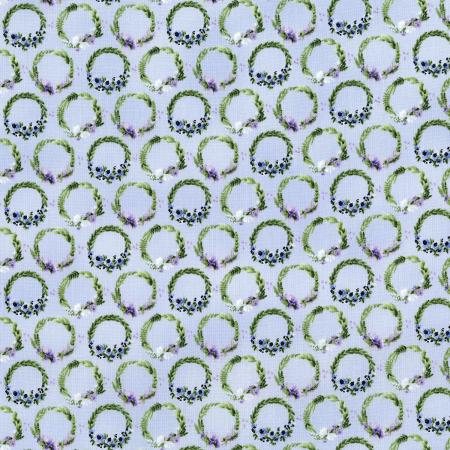 3295-002 June\'s Cottage - Laurel - Coast Fabric