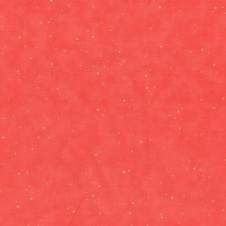 2792-003 Oasis - Flurries - Coral Metallic Fabric