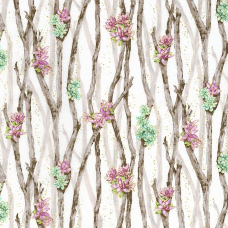 2888-002 Oasis - Desert Breeze - Thistle Fabric