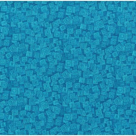 3215-002 Hopscotch - Overlapping Squares - Cove Fabric