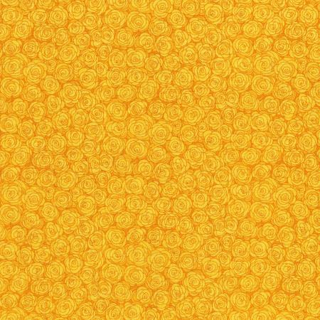 3216-002 Hopscotch - Rose Petals - Daffodil Fabric