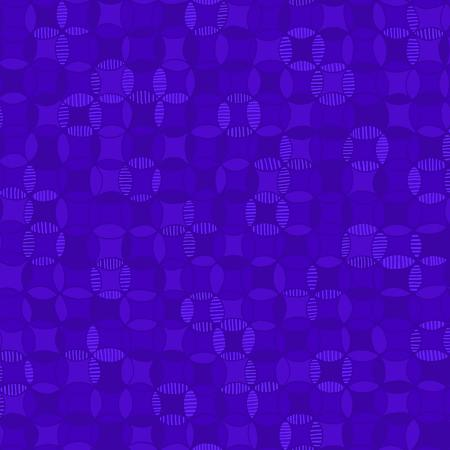 3641-003 Hopscotch - Cathedral Windows - Ultramarine Fabric 1