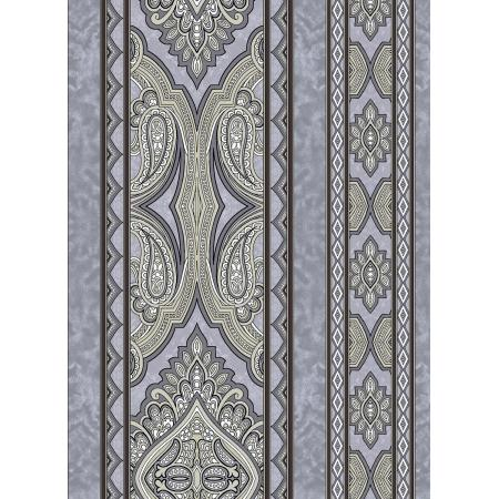 3578-004 Aruba - Border - Gray Taupe Fabric
