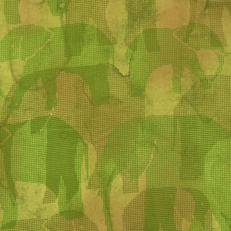 2661-001 Safari - Elephant - Yellow Fabric