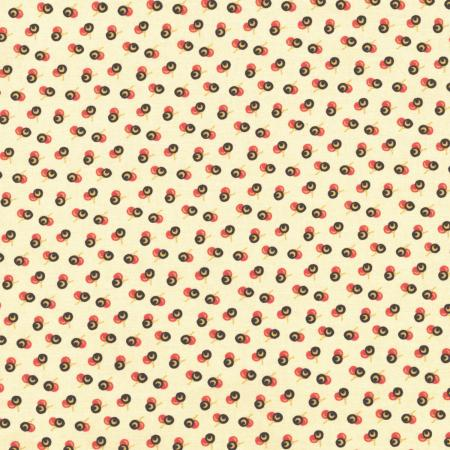2723-002 Chocolate & Bubble Gum - Fudge - Vanilla Fabric