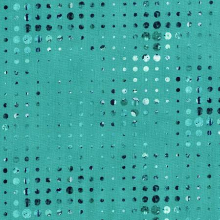 3069-001 Urban Artifacts - Linear Gradation - Teal Fabric