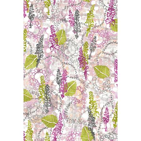 3357-002 Urban Garden - Garden Story - Sunset Walk Fabric