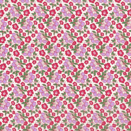 3303-002 Everything But The Kitchen Sink XIII - Cherries Jubilee - Sweet Pea Fabric