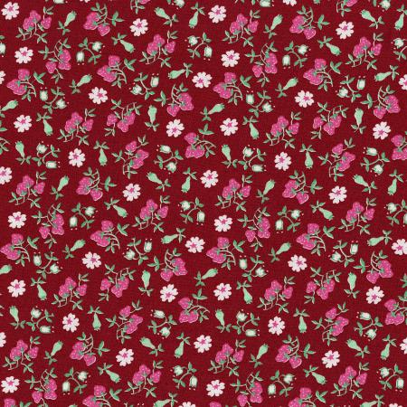 3304-002 Everything But The Kitchen Sink XIII - Barbara\'s Berries - Strawberry Fabric