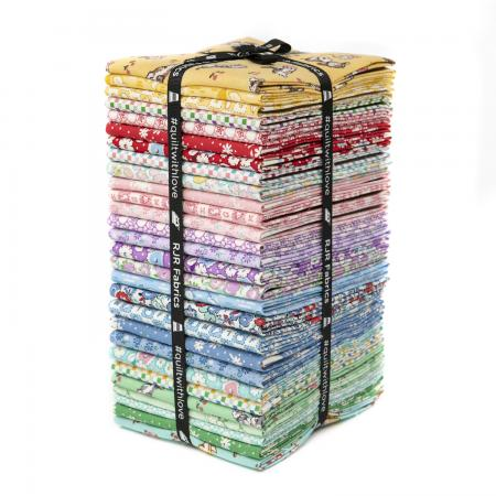 9653-689 Everything But The Kitchen Sink XIV Fat Quarters - Bundle