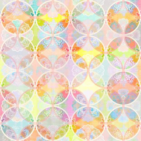 RJ1104-OP2D Flourish - Bangles - Opal Digiprint Fabric 1