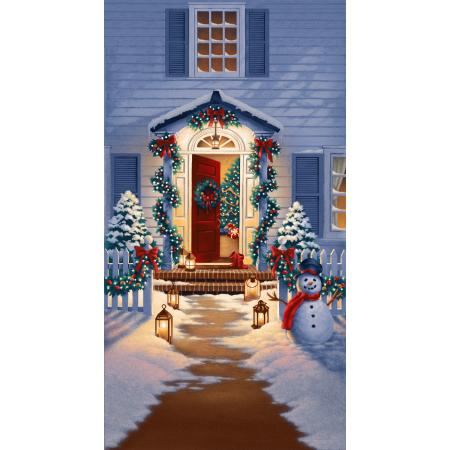 2727-001 Good Tidings - Panel - Holiday Homecoming Fabric