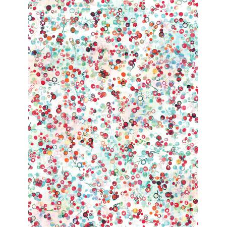 RJ407-SN2D Pineview - Berry Bliss - Snowflake Digiprint Fabric