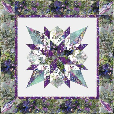 9653-360 Wildwood Way Star Gazer Quilt Kit
