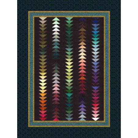 """Snowbirds Quilt Pattern"" Free Wall Hanging Pattern designed by Jinny Beyer Studio from RJR Fabrics"