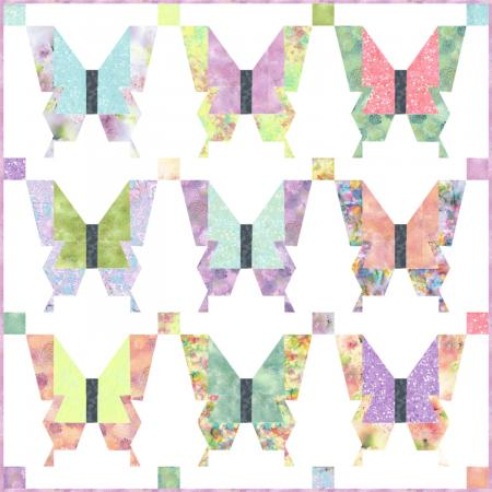 Spring Fly Away Quilt Pattern